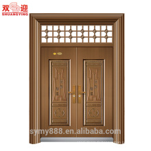 Porte d'entrée pivotante en tôle galvanisée de haute qualité