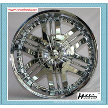 top quality competitive price SHINY chrome color 22 inch car rims 24 inch car rims