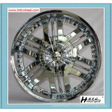 Высокое качество конкурентоспособная цена SHINY хром цвет 22-дюймовые обода автомобиля 24-дюймовые обода автомобиля