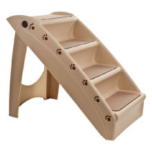 4 Steps Folding Plastic Pet Stairs