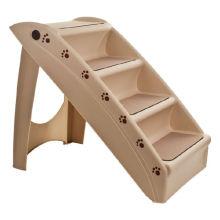 4 ступени складные пластиковые лестницы для домашних животных