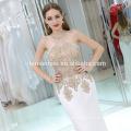 2017 superventas de moda Prom larga línea Formal a-line longitud del piso Sexy vestido de mujer