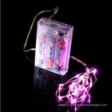 Décoration de table Mariage Bien Artisanat Guirlande Lumineuse LED Cuivre