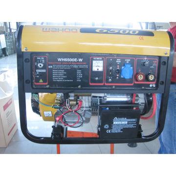 WH6500E-W 5000 Watt Portable Gasoline Welding Generator Electric Start (CE Certificate)