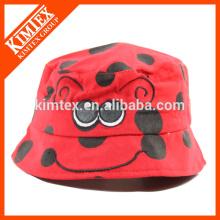 Chapeau à godet imprimé personnalisé avec chaîne avec votre logo