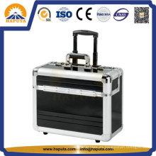 Elegante piloto embarque equipaje de aluminio /Trolley caso (HP-3201)