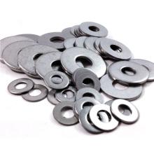 Arruela plana de silicone fina de metal de aço inoxidável