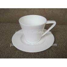 Tasse à café et soucoupe réutilisables espresso de qualité supérieure