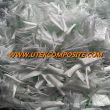 C Vidrio húmedo de fibra de vidrio de agua Dibujo de fibra cortada