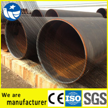 Pile de tuyaux en acier ERW / SSAW / LSAW de haute qualité