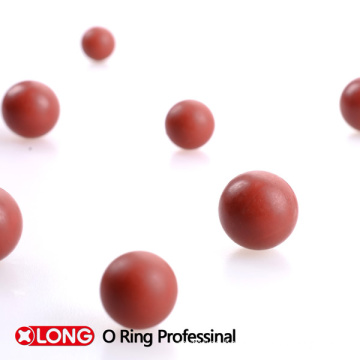High Performance Red Viton Solid Ball for Auto Industry
