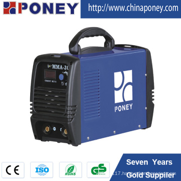 Mosfet Inverter Arc Welding Equipment Portable DC Welder MMA-140m/160m/200m/250m