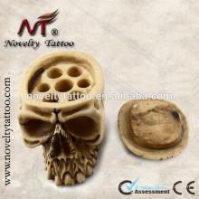 N201037 Porte-gobelet encre tatouage crâne