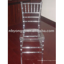 Chaise en cristal tiffany