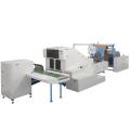 Máquina para fabricar bolsas de compras no tejidas