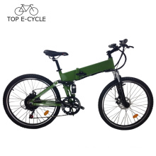 Chinese cheap electric folding bike 26inch mountain bike green power e bike