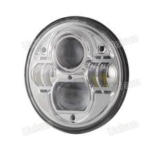 """Farol de farol selado com LED H4 7 """"73W automático"""