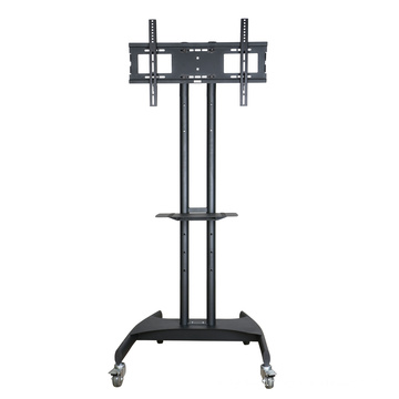 "Metal TV Stand / Trolley Sav 107 Wheelbase Telescopic Tube 30-60"" (SAV 107A)"