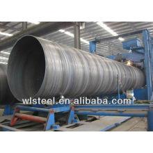 API-интерфейс 5л X42X52X60X70 большого диаметра спираль стальной трубы на продажу