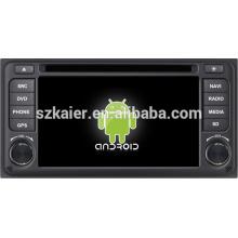 Vente chaude stable android 4.1 voiture stéréo pour Toyota ETIOS avec GPS / Bluetooth / TV / 3G / WIFI