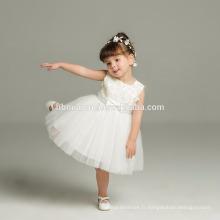 Haute qualité bébé filles baptême robe d'anniversaire pour bébés robe de baptême