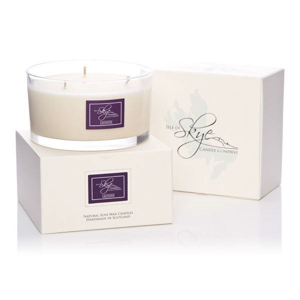 Fragrant Flame Soy wax Candle with candle container