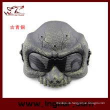 Militärische Airsoft DC-05 halbe Maske Ghost Warrior Gesichtsmaske