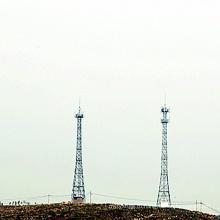 Телекоммуникационная силовая передающая башня