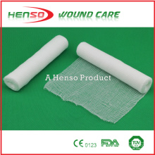 Bandage élastique en gazon blanchi avec coton tissé