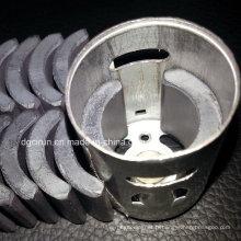 Aimant permanent de générateur de moteur de ferrite de forme d'arc