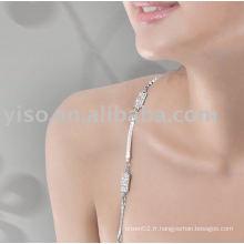 Bracelet en strass en strass