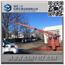 50 Ton Heavy Duty Sliding Rotator Recovery Truck Body