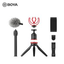 Boya By-vg330 Universal Smartphone Video Kit For Youtuber Vlogger