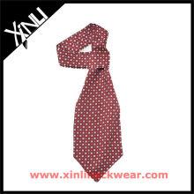 Cravate personnalisée d'Ascot de polyester de sublimation