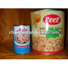 Консервированные грибы (высокое качество)