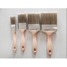 Alta qualidade de madeira escova de cerdas de manípulo (yy-615)