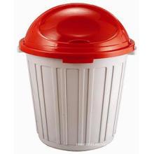 Molde de cubo de basura plástico