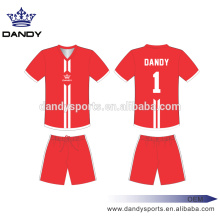 Cheap 100% Polyester Custom Soccer Jerseys