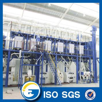 100 MT Per Dsy Maize milling machine