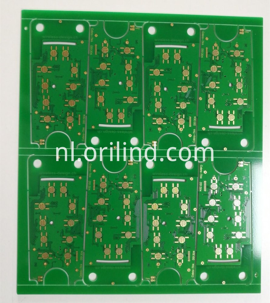 Binding gold circuit board