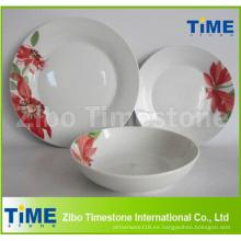 Comprar juegos de cena de vajilla de porcelana Living Art