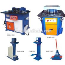 Máquina de entalhe para o processamento de duto do ângulo