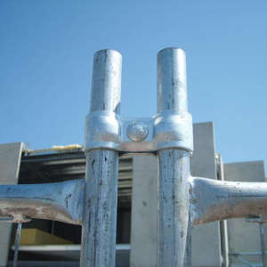 Galvanzied Temporary Fence Clamp