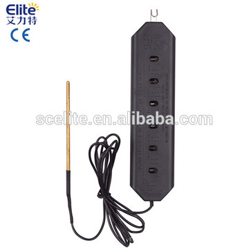 Electric fence power voltage tester
