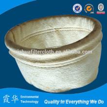 Filtro de poeira de saco de 100 micron para fábrica de cimento