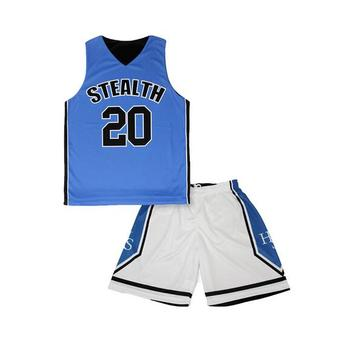 Ungdom uniformer grossist billiga reversibla basket uniformer nya design basketväskor