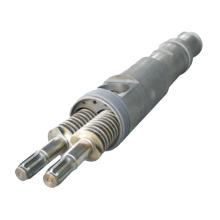 конический двухвинтовой цилиндр для машины для производства пластиковых труб