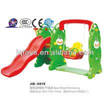 JQ3015 Hotsale Crianças plástico Play Tube Slide