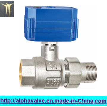 F X M Cw617n Electric Brass Ball Valve (a. 0196)