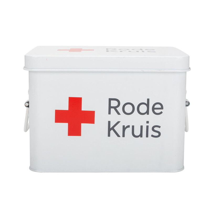 Stainless steel household first aid kit